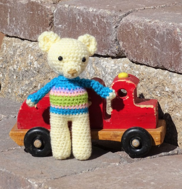 Amigurumi Toy, Teddy Bear, Baby Toy, Small Bear, Crocheted Toy, Stuffed Bear