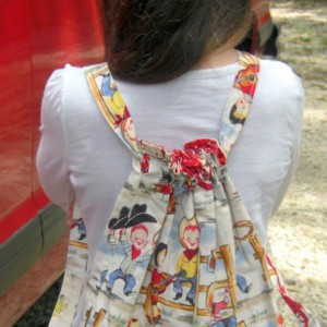 Lil' Cowpokes Child Drawstring Backpack