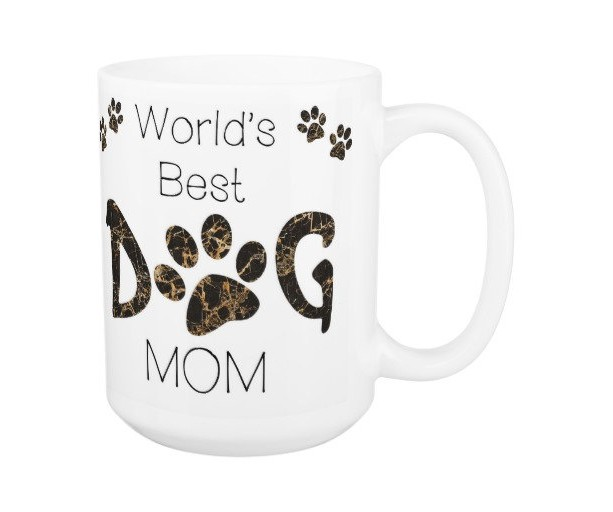 Dog Mom Coffee Mug 9A - Mothers Day Dog Mug - Dog Lover Gift - Worlds Best Dog Mom - Gift for Mom - Gift for Dog Lover - Pet Lovers