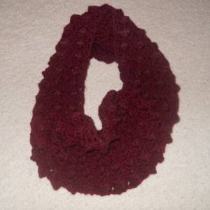 Handmade Crocheted Textured Cowl