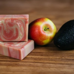 Apple Avocado Goat Milk Soap