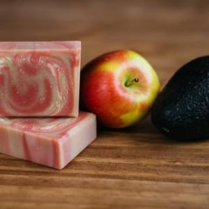 Apple Avocado Goat Milk Soap
