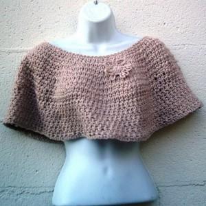 Crochet Caplet