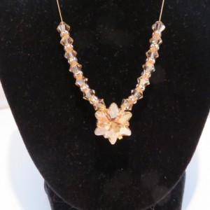 Golden Edelweiss Necklace