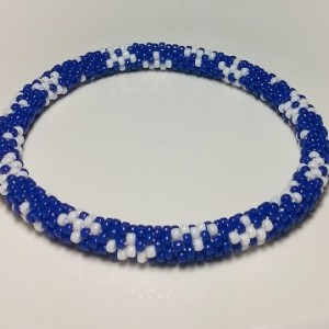 Beaded Snowflake Necklace for Dogs