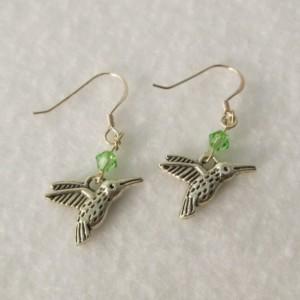 Hummingbird Earrings - Free shipping!