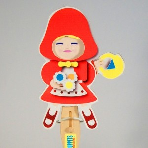 Wooden Puppet-  Red Riding Hood