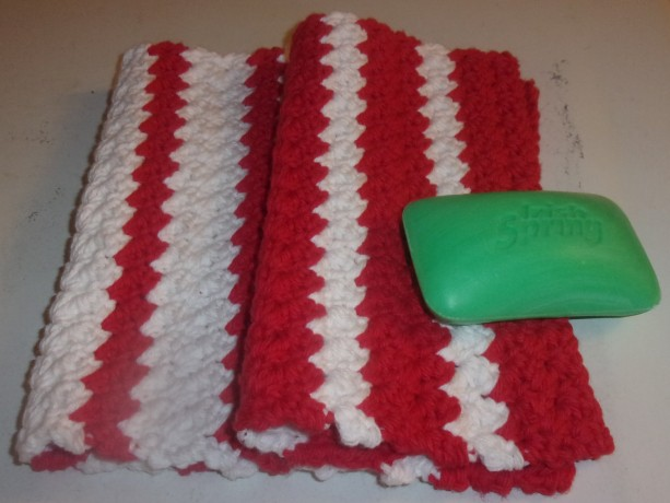 Striped Washcloth Set