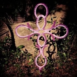 Horseshoe Cross, Home decor, Country Cross, western decor, Religious decor, Metal art, rustic home decor, Religious Spiritual cross, rustic