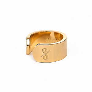 NASTY RING: 18-KARAT GOLD (MATTE)