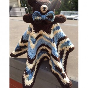 Crochet Bear Lovey
