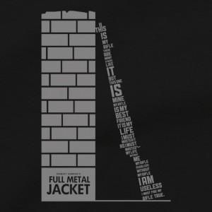 Full Metal Jacket Men's T Shirt, Rifleman's Creed Born To Kill Stanley Kubrick Vietnam War Movie Unisex Cotton Tee Shirt