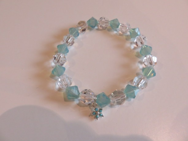 Flower Power-Turquoise