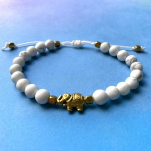 Elephant Pull Bracelet (Multiple Colors Available)