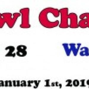 Ohio State Buckeyes 2019 Rosebowl Champions Aerial custom framed picture