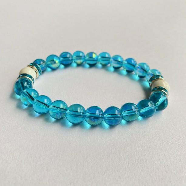Turquoise Moonstone Bracelet