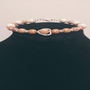 Czech Beaded Heart Bracelet