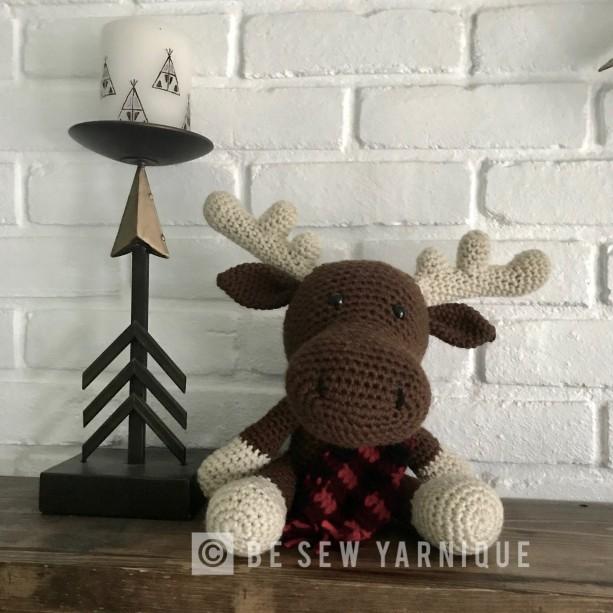 Moose Plushie