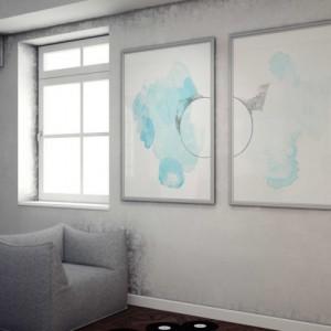 Large Art Print Set. Pair of Paintings. Watercolor Print Set. Colorful Abstract Set. Large Art Print Set. Colorful Home Decor Art Print