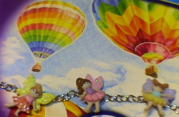 Fairy Bracelet. Homemade Multi color.