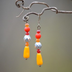 Setting Sun Earrings