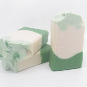 Green Tea & Cucumber Handmade Soap with Coconut Milk