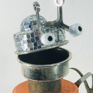 Disco on the Brain Assemblage Robot