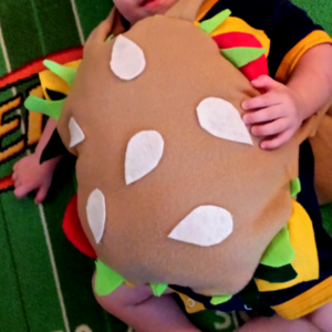 Burger Halloween costume