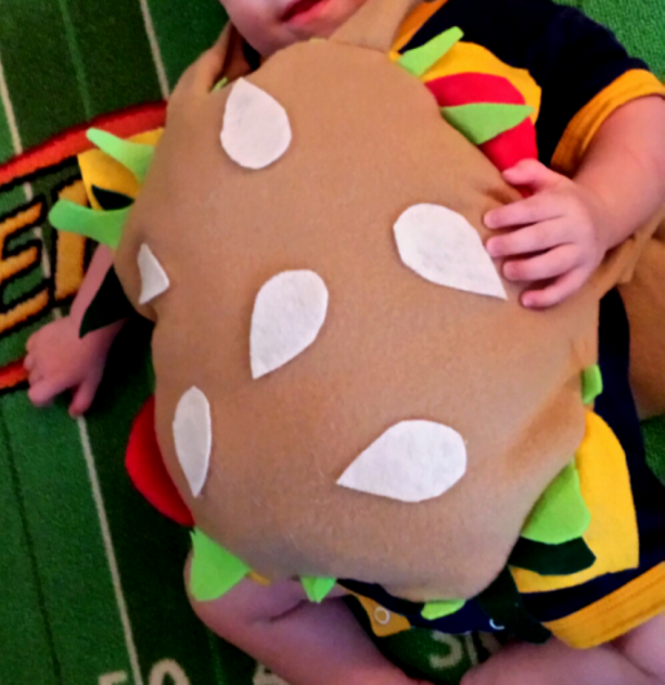 Burger Halloween costume