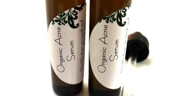 Organic Acne Serum