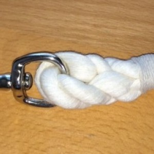 Dog Leash Hand Crafted With Nautical Rope