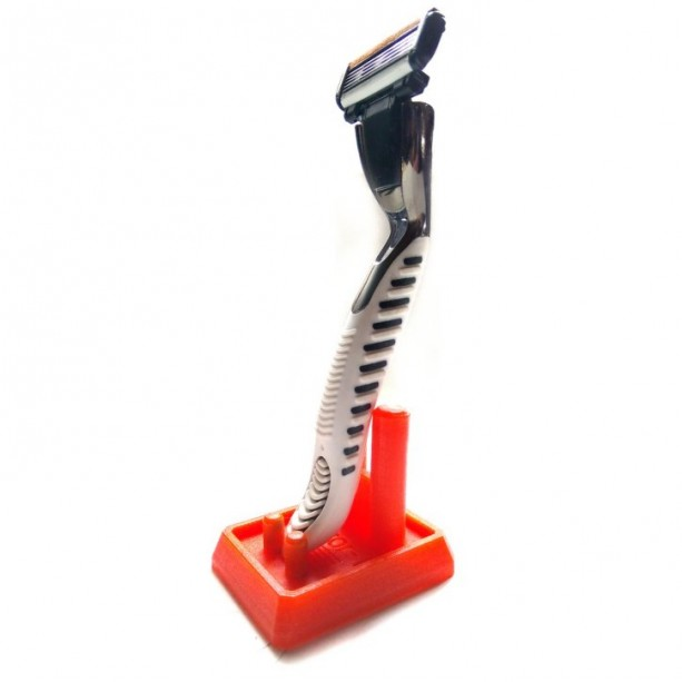 """Classic"" Razor-T - Protects and displays your razor (or toothbrush)"