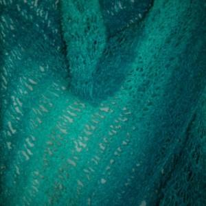 Women's Turquoise Beach Shawl/Wrap