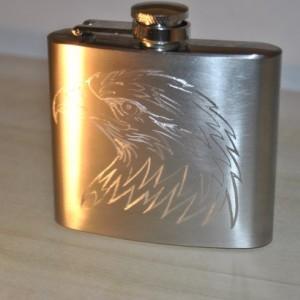 Eagle Hip Flask