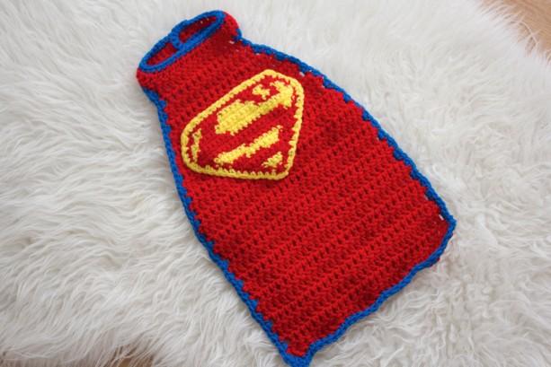 0 3 Month Crochet Superman Cape And Hathandmade Crochet Super He