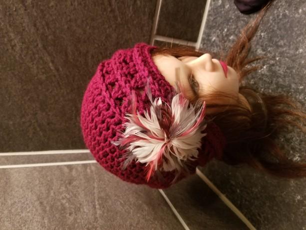 Handmade adult vintage hat