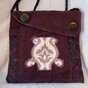 Purple Passion Purse, shoulder bag, cute compact