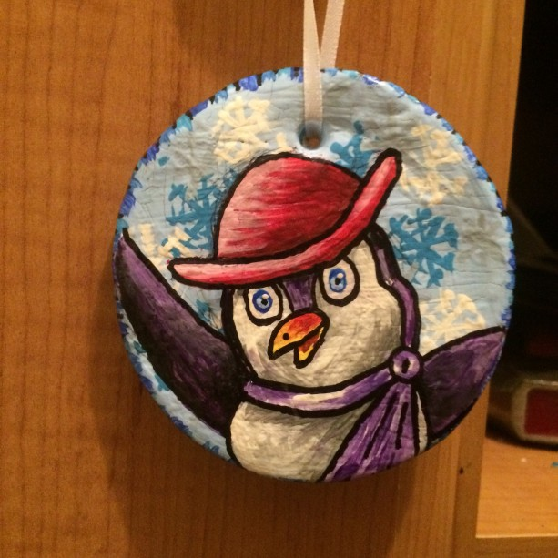 Paulie Penguin Ornament