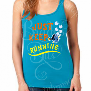 Just Keep Running Tank