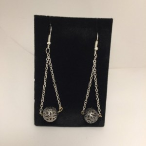 Silver Metal earrings