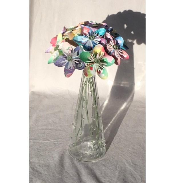 Origami flower bouquet | aftcra