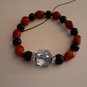 Lava Bead Essential Oil Diffuser Bracelet/Adjustable/Bracelet/Calming/Essential Oil/Essential Oil Diffuser