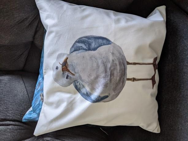 Seagull 1 Throw Pillow