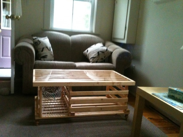 Cedar Lobster Trap Coffee Table Made In Usa Included