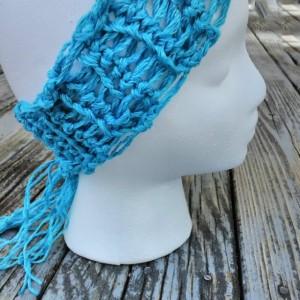Woman's headband, Headwrap, Turquoise