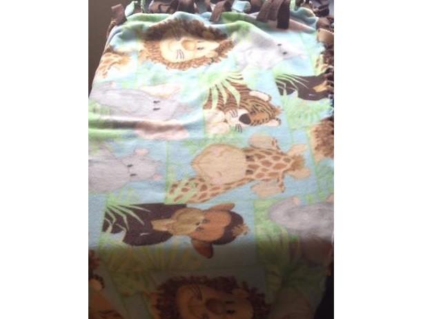 'Wild Things' Blanket