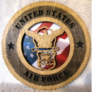 Air Force Wall Plaque