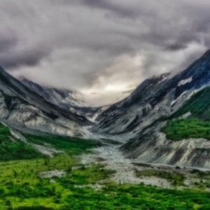 Alaskan Landscape - 12 x 18 inch print