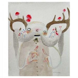 Antlers #1 - print