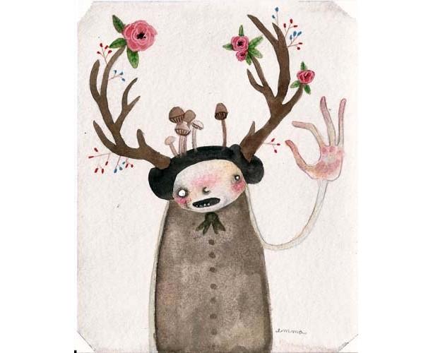 Antlers #2 - print